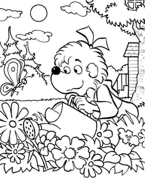 garden coloring garden coloring pages for kids new house design coloring garden