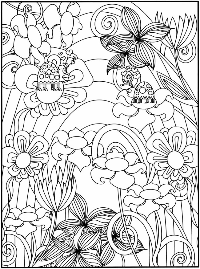 garden coloring pages printable flower garden coloring pages to download and print for free garden coloring pages printable