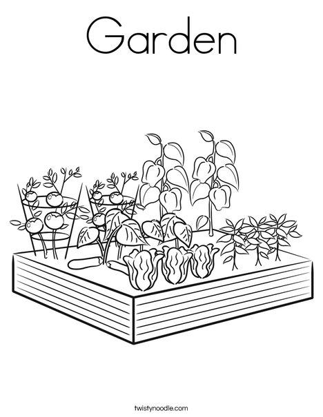 garden coloring pages printable garden coloring page twisty noodle pages printable coloring garden