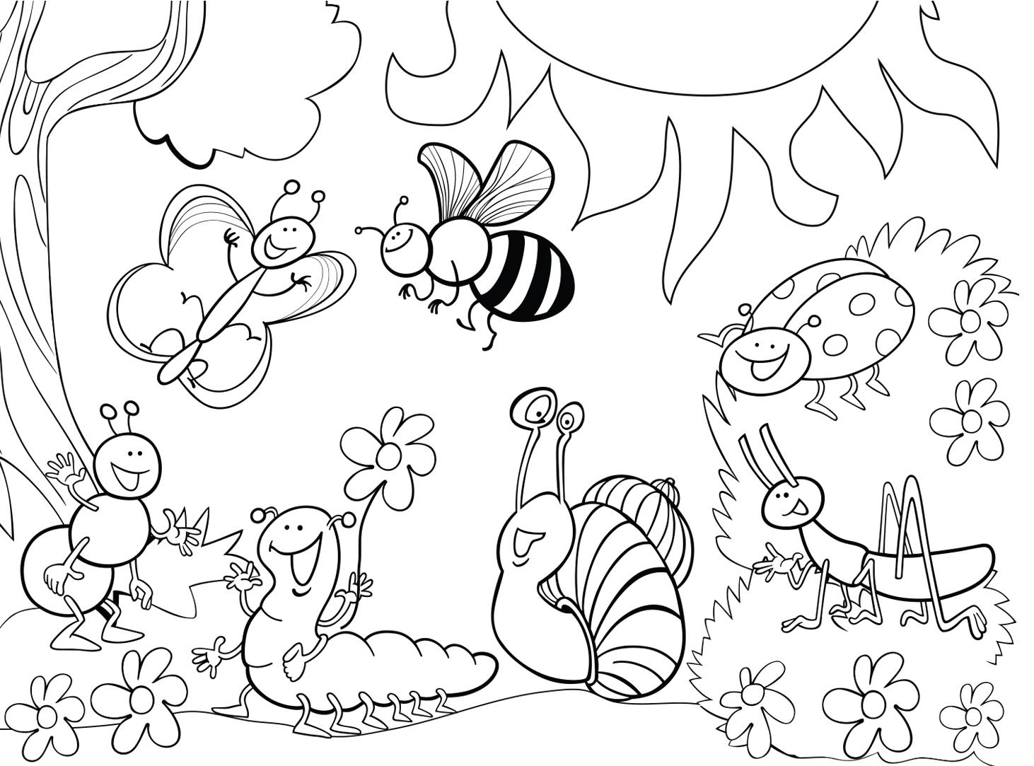 garden coloring pages printable garden critters coloring page crayolacom garden pages printable coloring