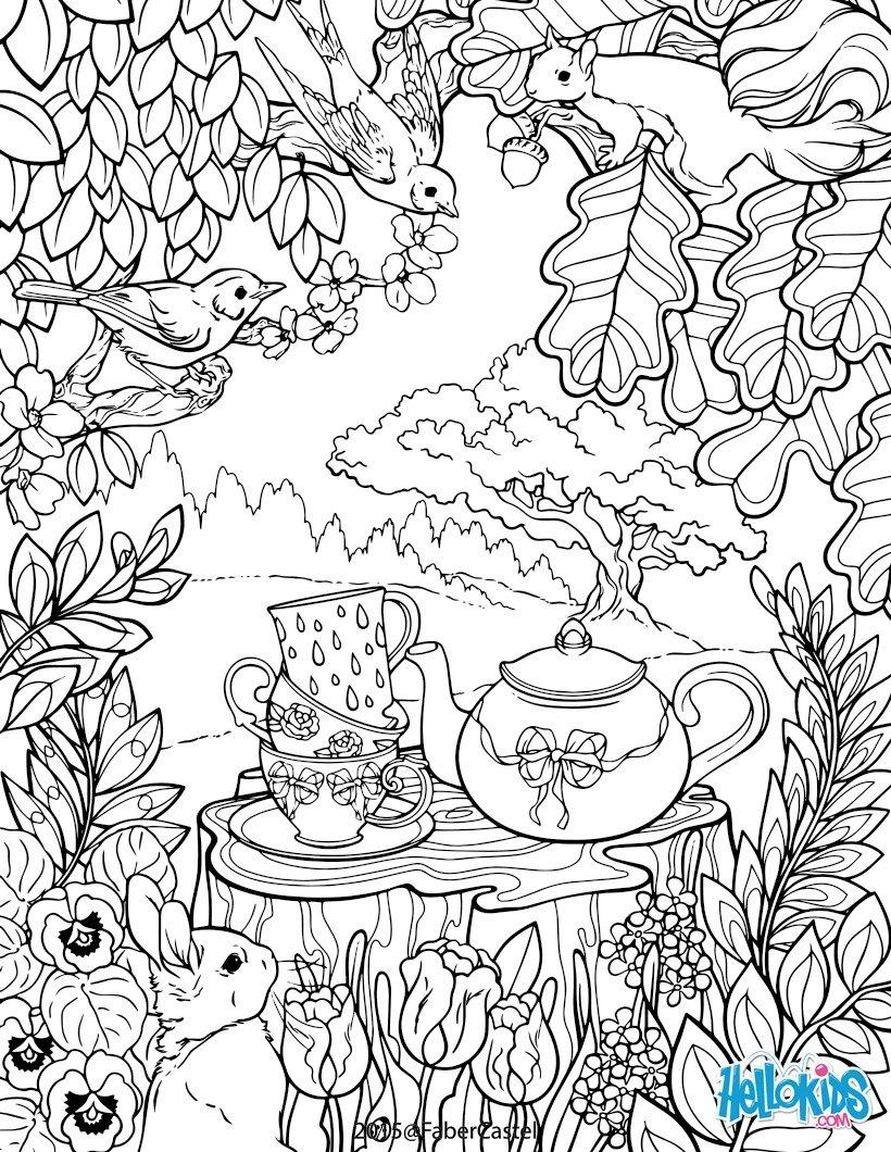 garden coloring pages printable mandala secret garden coloring pages hellokidscom coloring pages garden printable