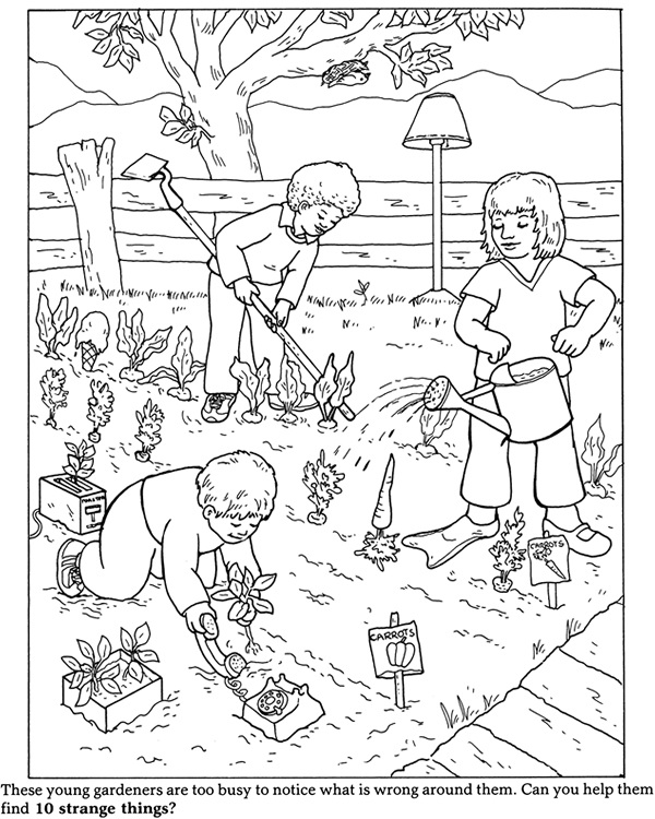 garden coloring pages printable simple garden coloring pages getcoloringpagescom printable garden coloring pages