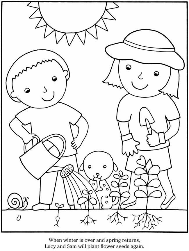 garden coloring sheet color the garden path worksheet educationcom garden sheet coloring