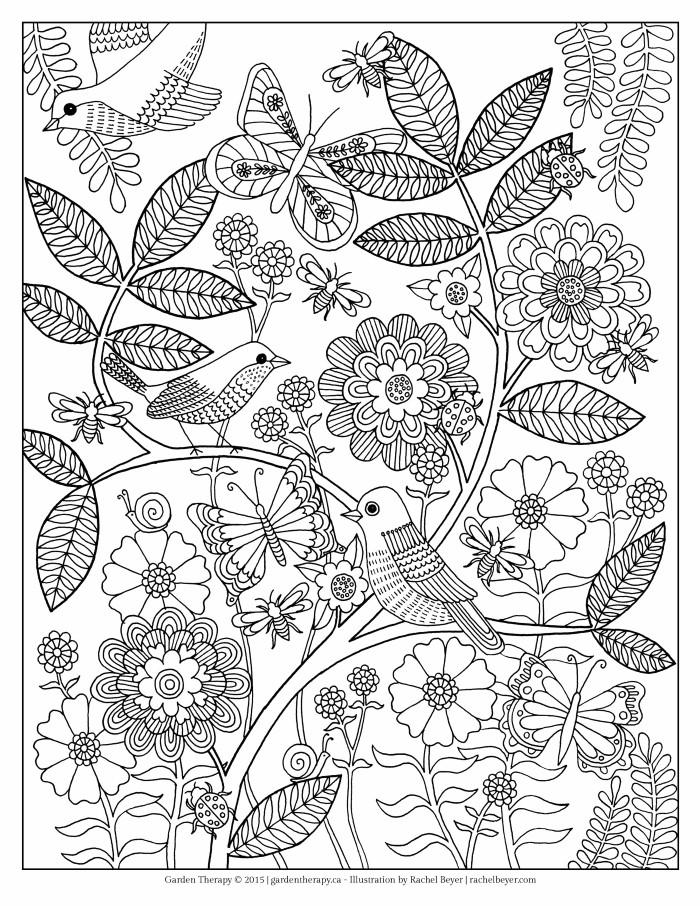 garden coloring sheet watering the garden garden sheet coloring