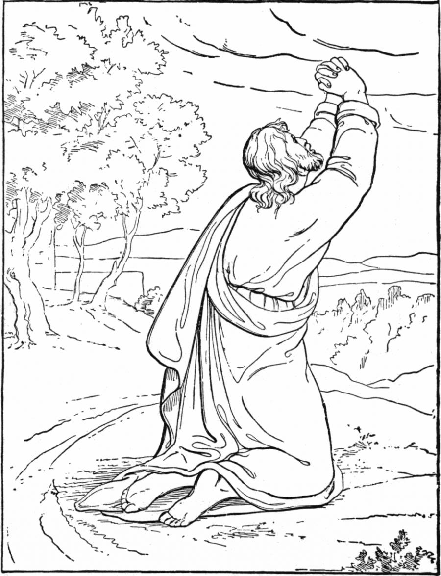 garden of gethsemane coloring pictures the prayer of jesus in the gethsemane garden coloring coloring pictures garden gethsemane of
