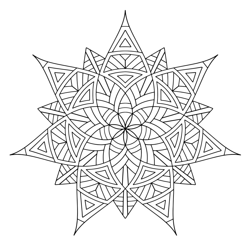 geometric coloring pages for adults free 14 best images about adult coloring pages on pinterest free for geometric adults coloring pages