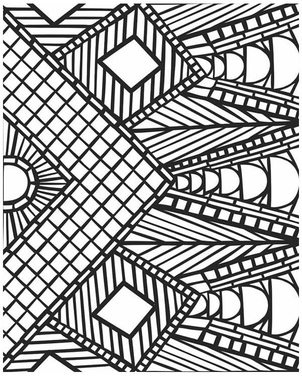 geometric coloring pages for adults free free printable geometric coloring pages for adults free coloring adults geometric pages for