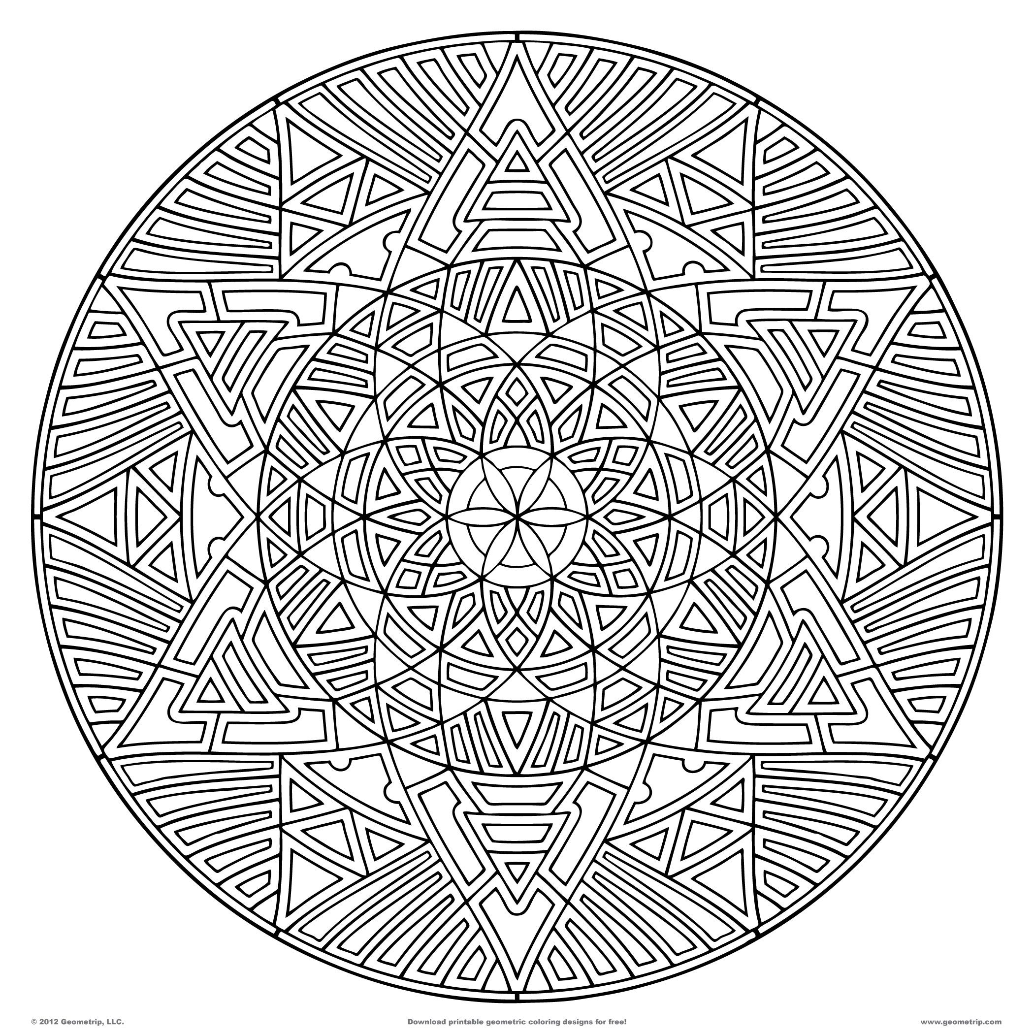 geometric coloring pages for adults free pin on coloring pages for all ages 2 for adults coloring free pages geometric