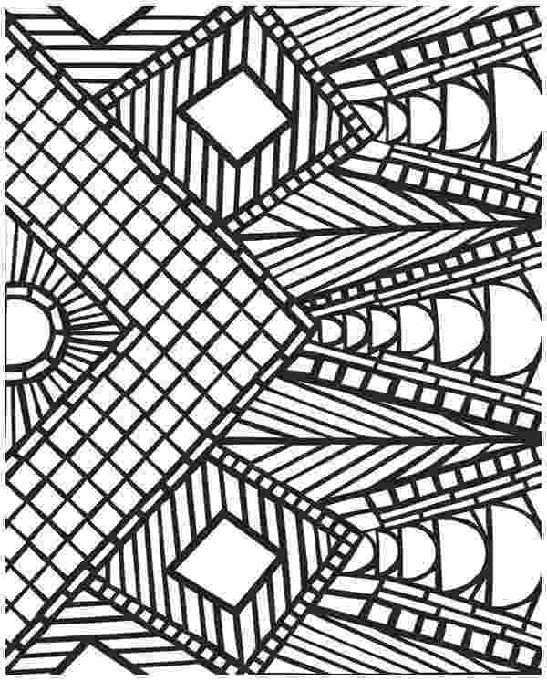 geometric pictures to color awesome geometric mosaic coloring page download print color pictures to geometric