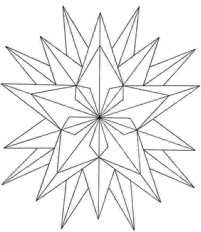 geometric pictures to color free coloringpainting page geometric star color geometric pictures to