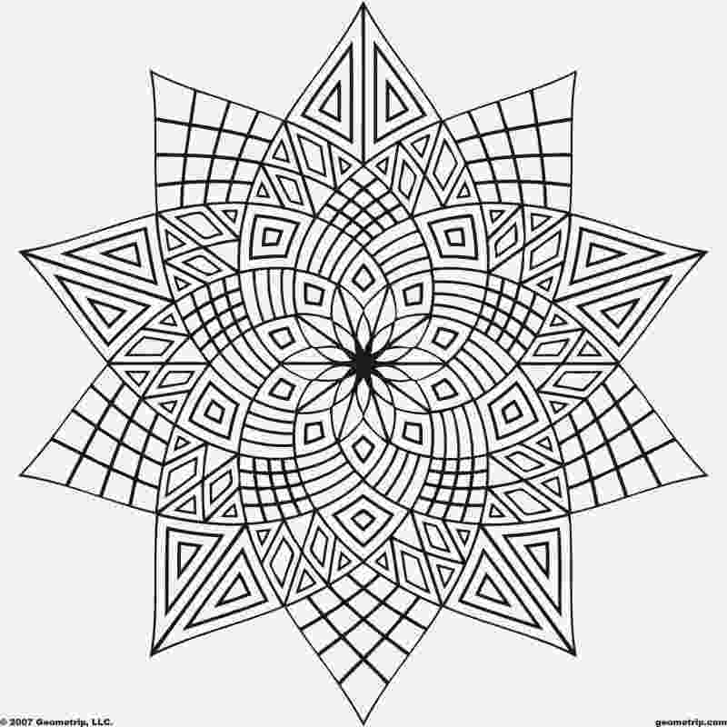 geometric pictures to color geometric block pattern 77 clipart etc to pictures color geometric