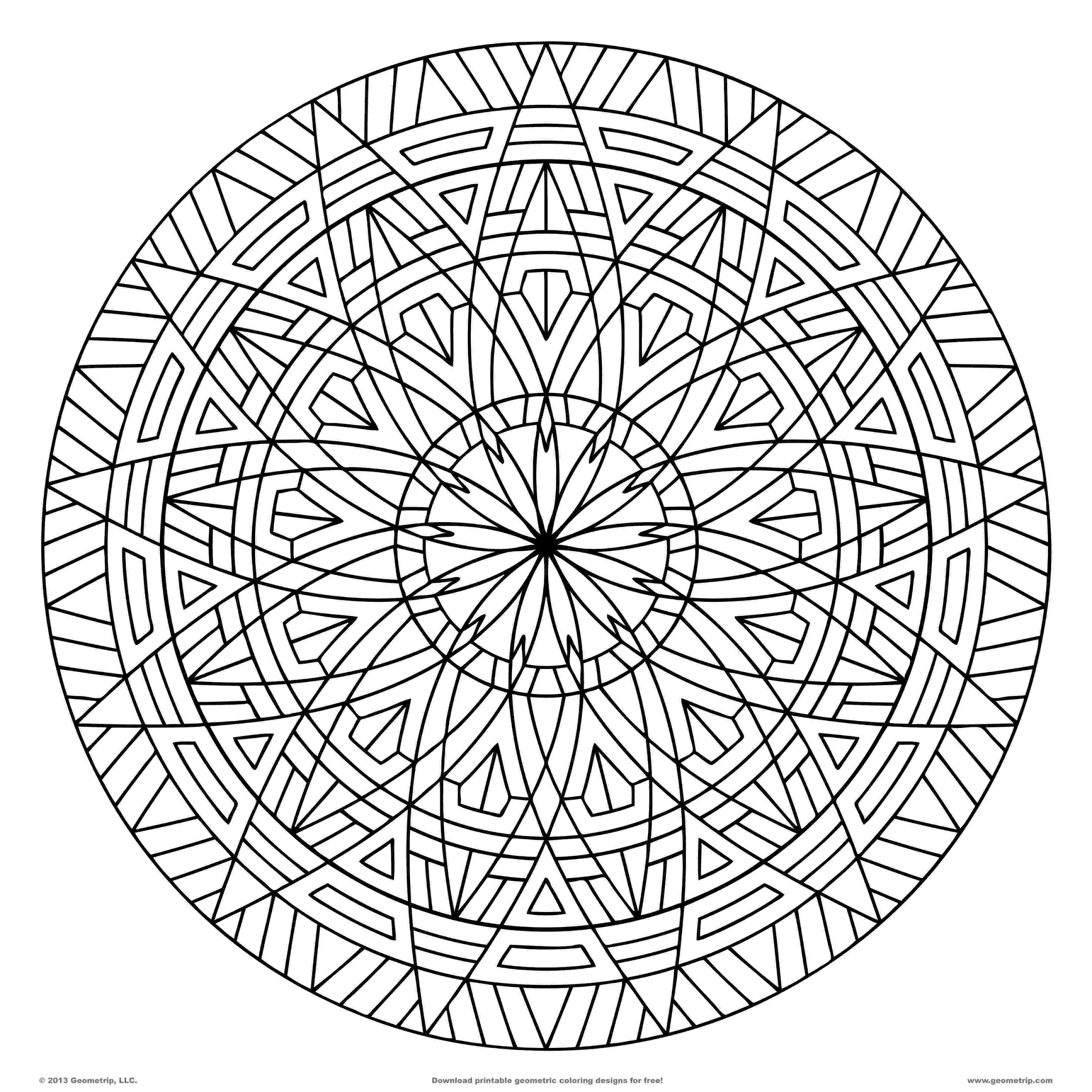 geometric pictures to color graphic design coloring pages at getcoloringscom free geometric to pictures color