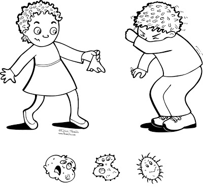 germ coloring sheet a picture paints a thousand words keep germs to yourself coloring sheet germ