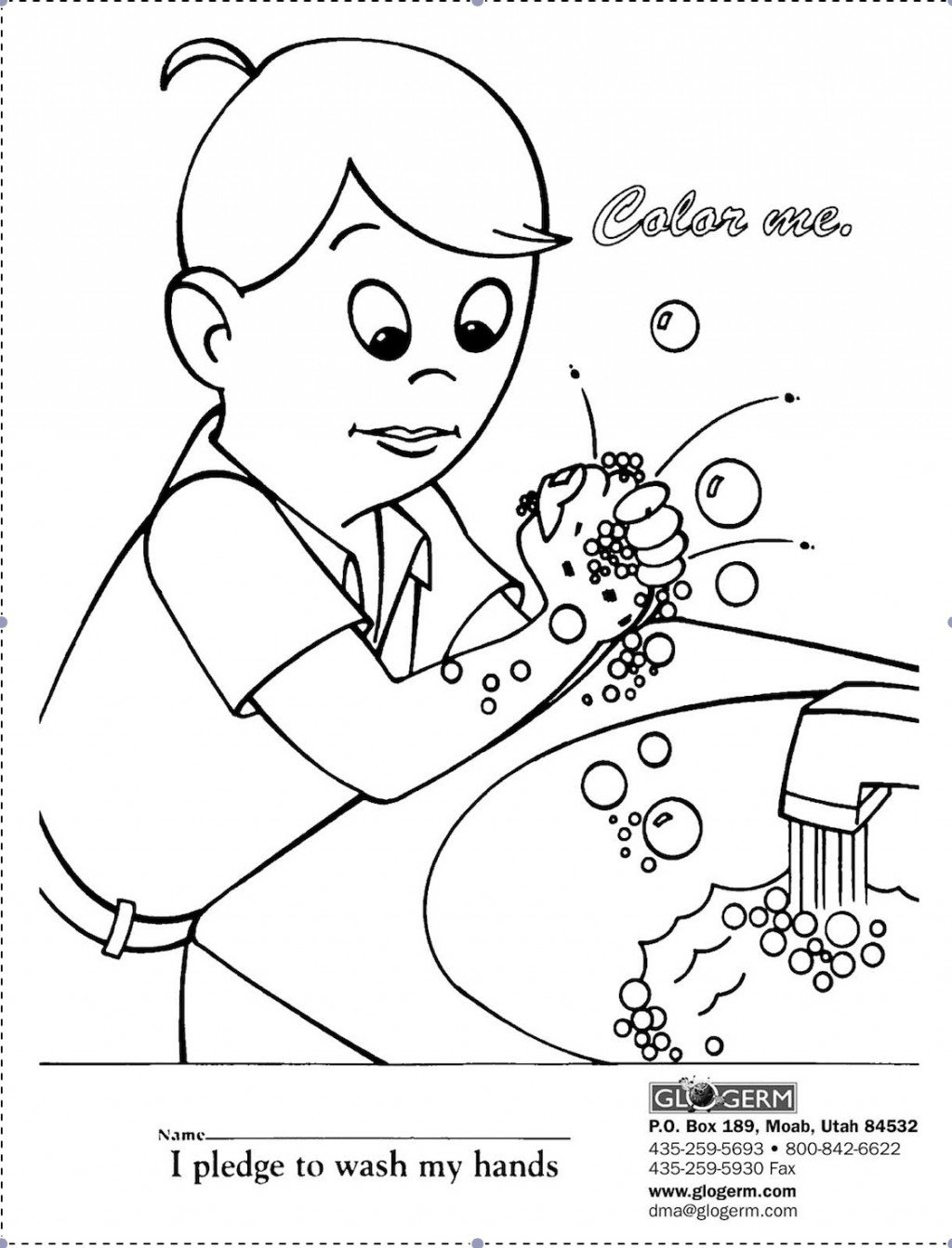 germ coloring sheet kid color pages sick day and spreading germs sheet coloring germ
