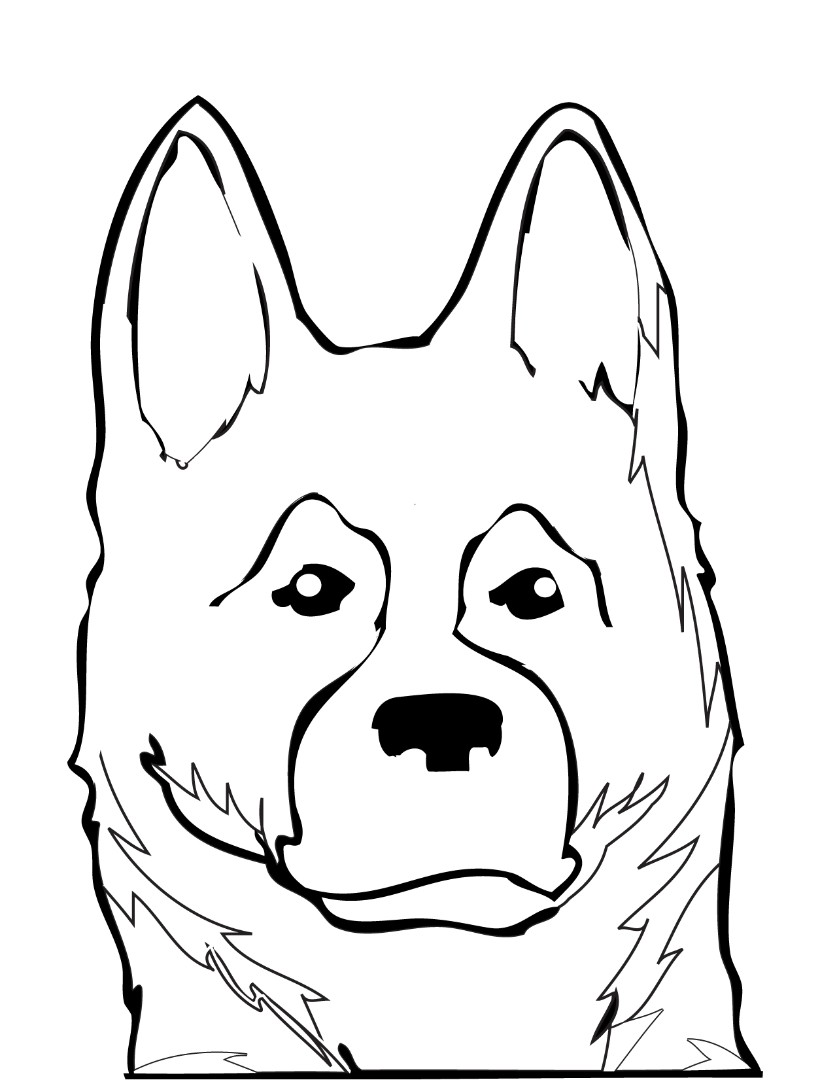 german shepherd pictures to print german shepherd coloring pages to download and print for free pictures to german print shepherd