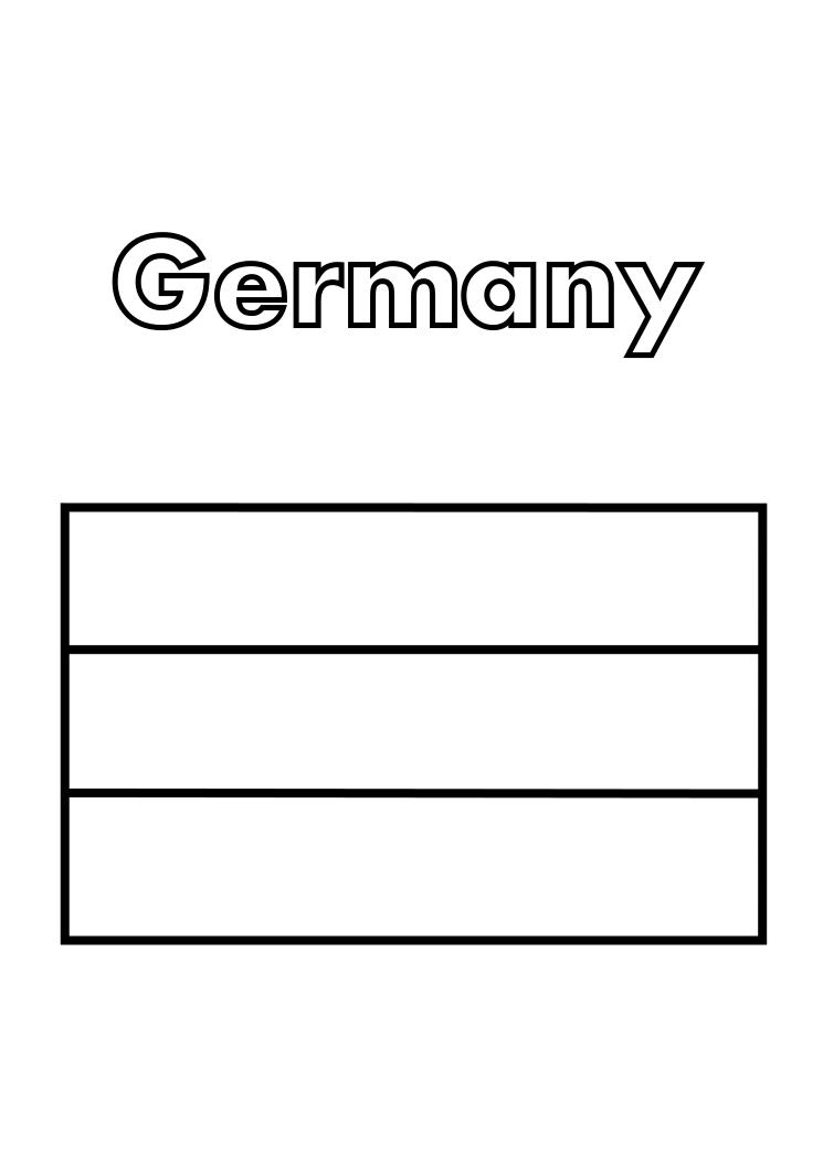 germany flag coloring page germany flag coloring germany coloring flag page