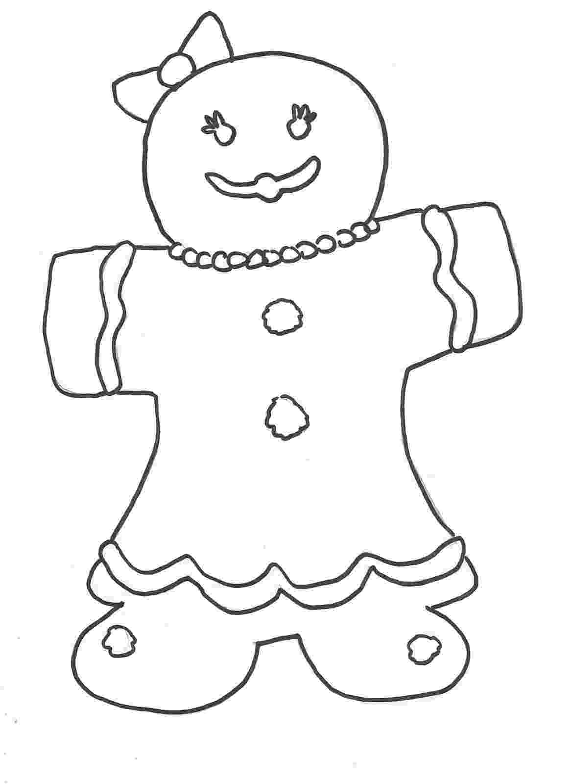gingerbread coloring sheet squiggle bop coloring gingerbread sheet