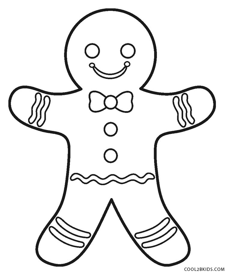 gingerbread colouring pages tiny gingerbread man coloring page free printable pages colouring gingerbread