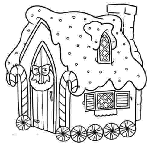 gingerbread house coloring page 1000 images about icolor quotgingerbread housesquot on house gingerbread coloring page