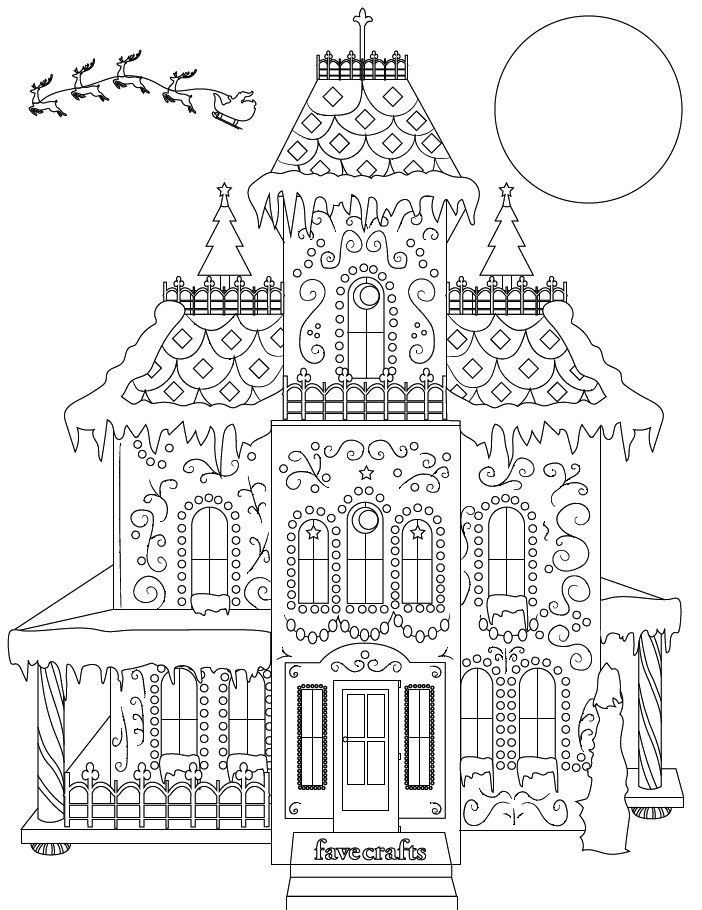 gingerbread house coloring page printable gingerbread house coloring pages for kids coloring page gingerbread house