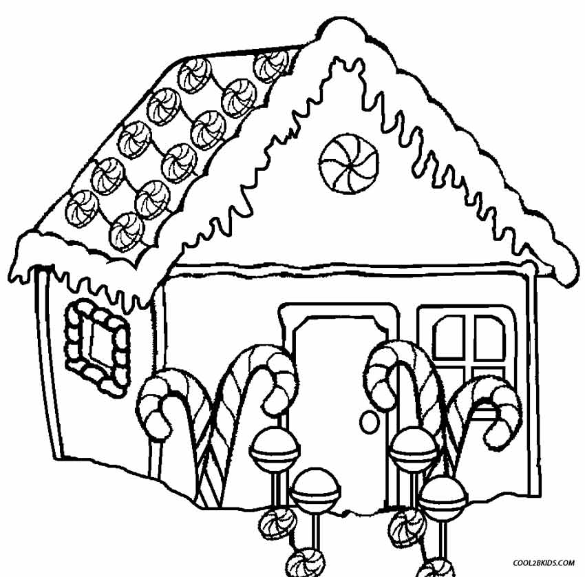 gingerbread house coloring sheet free printable house coloring pages for kids cool2bkids coloring gingerbread house sheet
