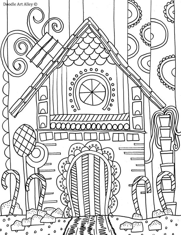 gingerbread house coloring sheet gingerbread house coloring page doodle art alley sheet coloring gingerbread house