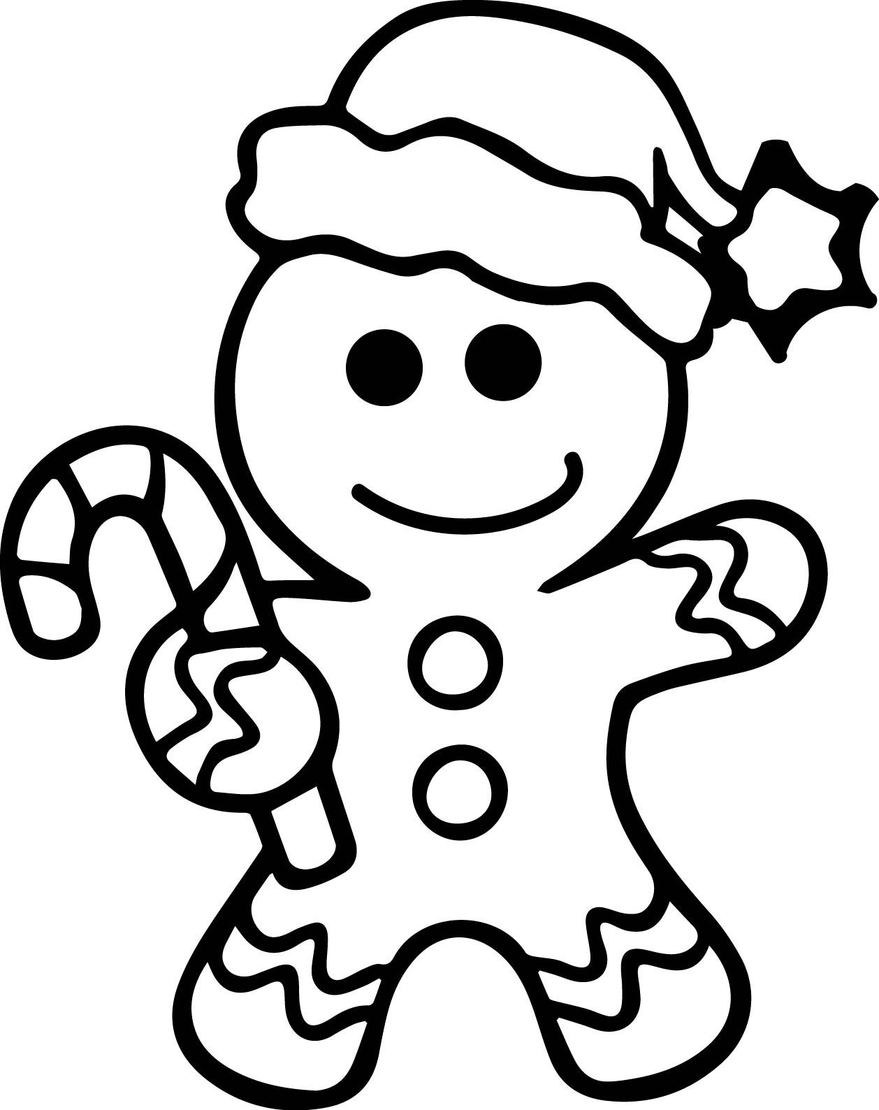 gingerbread man coloring free printable gingerbread man coloring pages for kids gingerbread man coloring