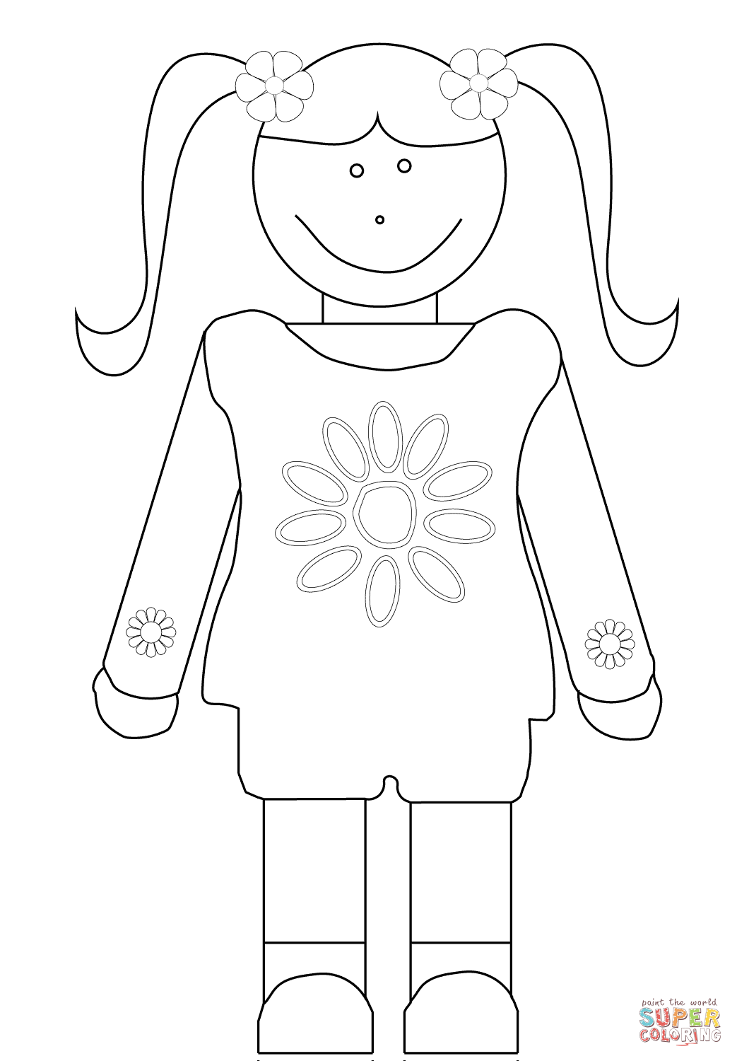 girl scout coloring pages for daisies 94 best coloring sheets images on pinterest preschool girl coloring for pages daisies scout