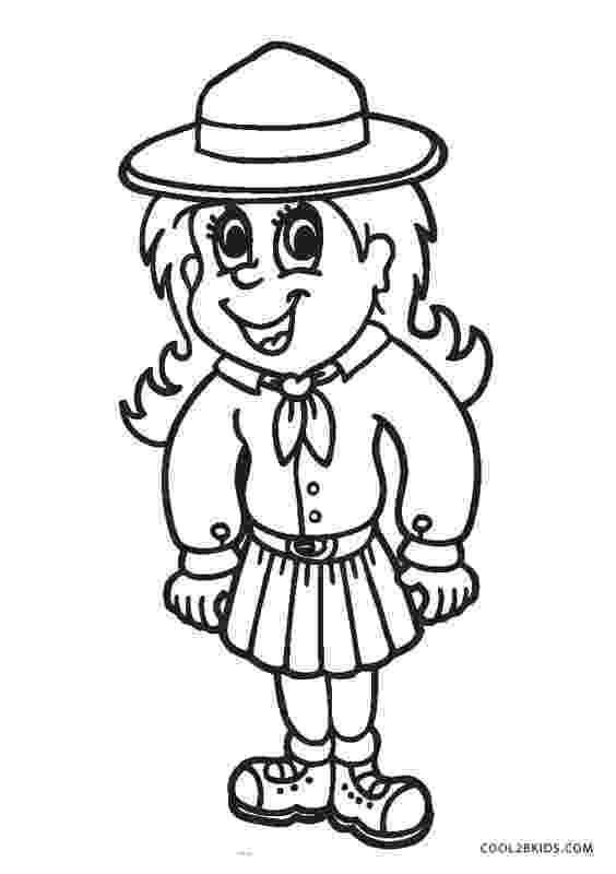 girl scout coloring pages for daisies free printable girl scout coloring pages for kids cool2bkids scout girl coloring for daisies pages