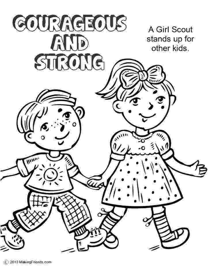 girl scout coloring pages for daisies girl scout daisy petal coloring pages sketch coloring page scout daisies pages for girl coloring