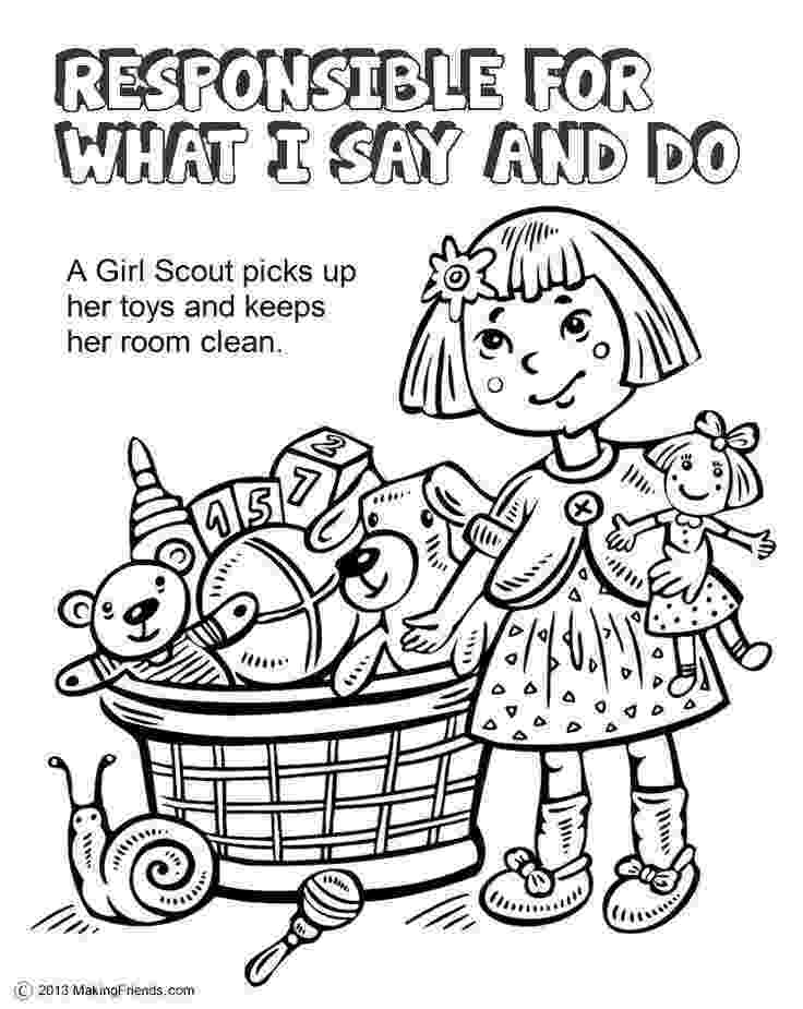 girl scout coloring pages for daisies girl scout law coloring book girl scout daisy petal for daisies pages girl scout coloring