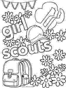 girl scout coloring pages for daisies girl scout law craft with free printable promise and daisies scout pages girl coloring for
