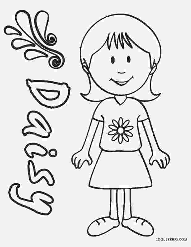 girl scout coloring pages for daisies i39m a daisy girl scout girl scout promise daisy girl scout girl pages daisies for coloring