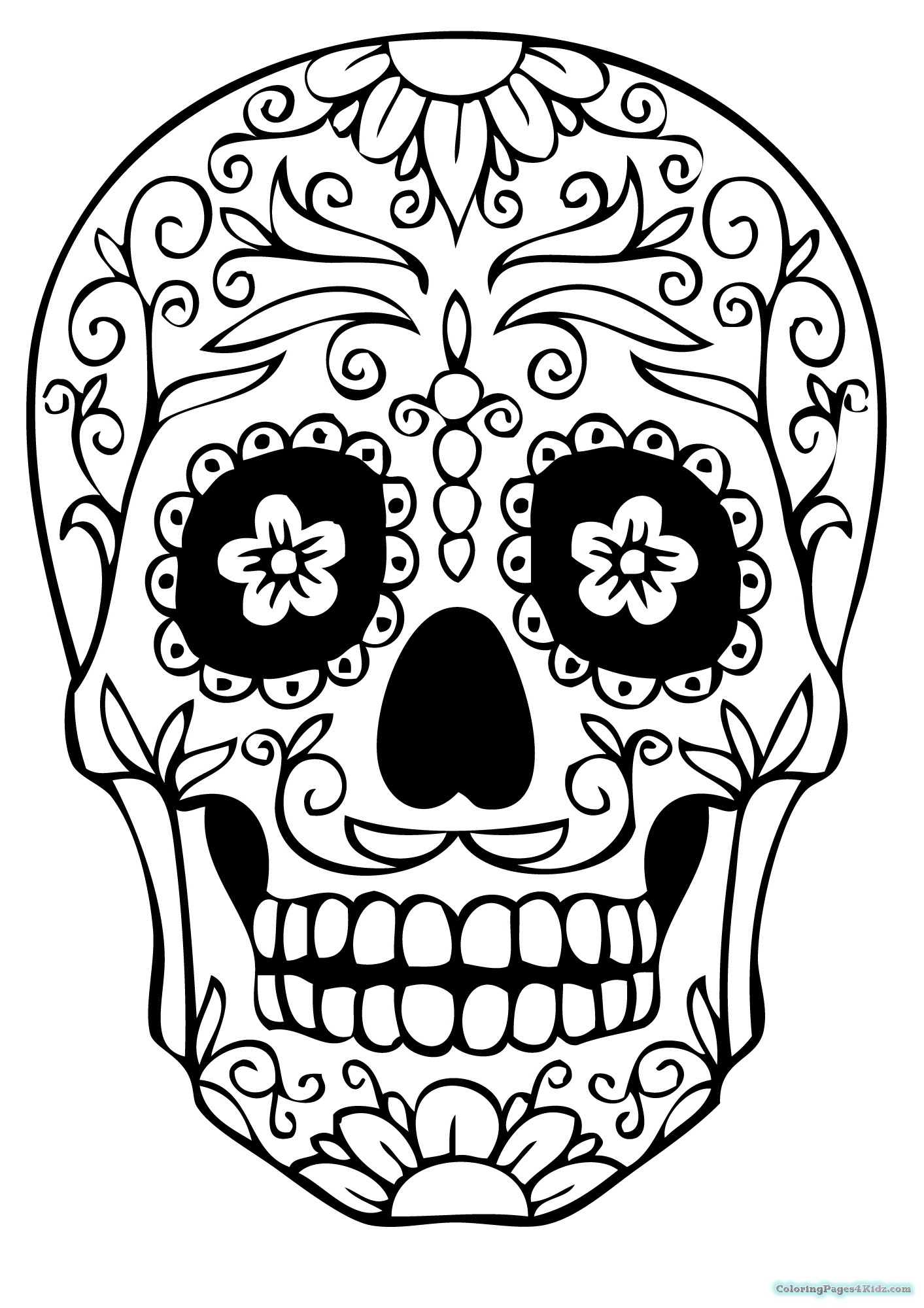 girl skull coloring pages amelia day of the dead dottie gleason skull coloring pages coloring girl skull
