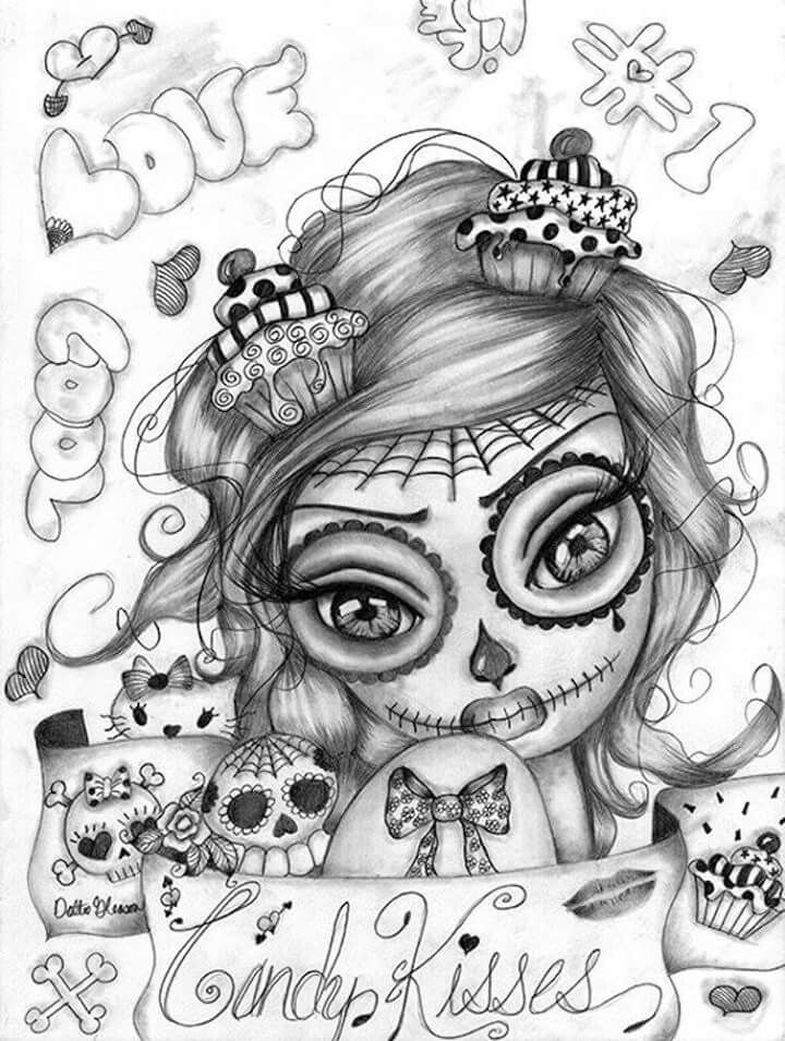girl skull coloring pages sugar skull coloring pages coloring pages for adults girl skull pages coloring
