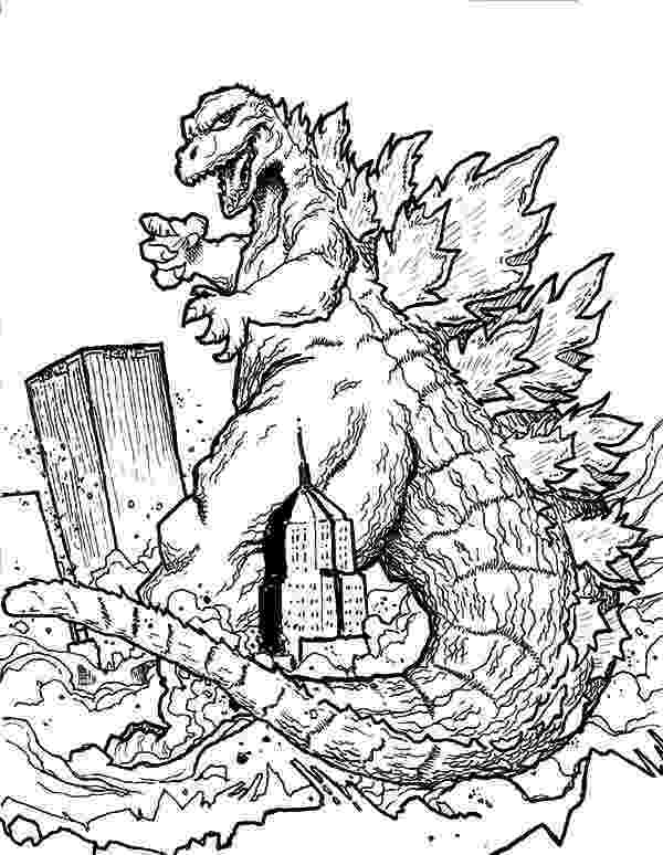 godzilla printable coloring pages activity shelter printable coloring pages godzilla
