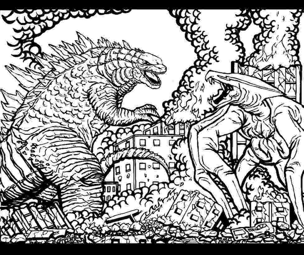 godzilla printable coloring pages free godzilla coloring pages coloring home pages coloring printable godzilla