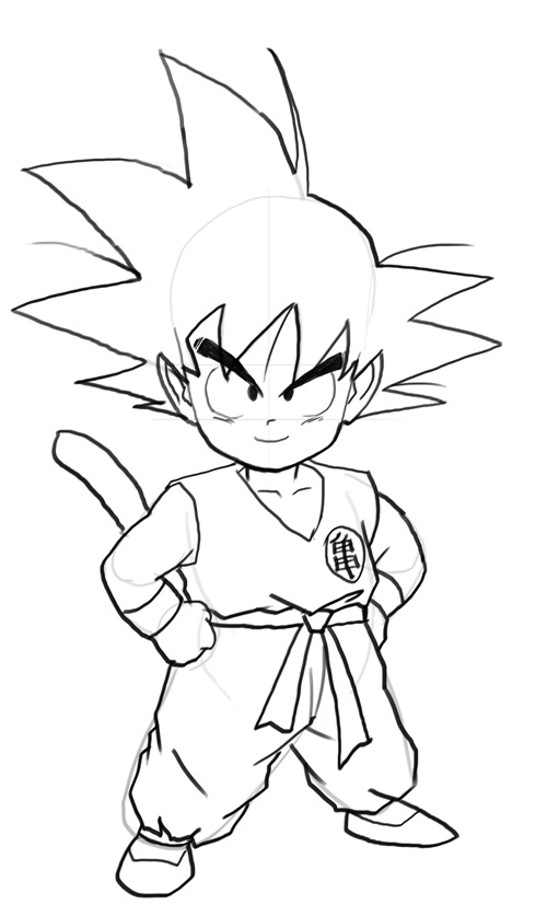 goku coloring pages printable goku coloring pages for kids cool2bkids pages goku coloring