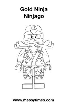 golden ninjago coloring pages ninjago golden master coloring page free lego ninjago ninjago coloring golden pages