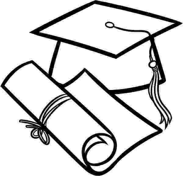 graduation cap coloring page graduation cap and diploma outline coloring pages color luna page cap coloring graduation