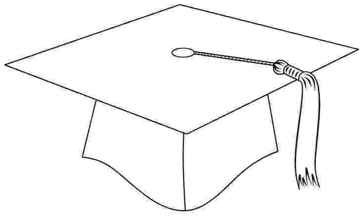 graduation cap coloring page graduation cap template k class pinterest graduation cap coloring page