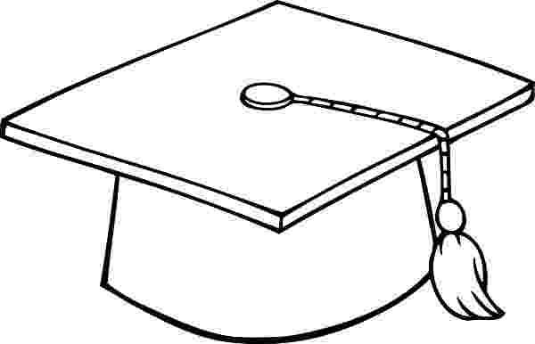 graduation cap coloring page graduation hat image free download best graduation hat graduation cap page coloring