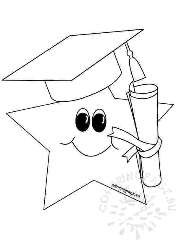 graduation cap coloring page pin by muse printables on printable patterns at page coloring cap graduation