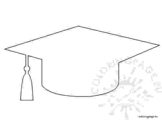 graduation cap coloring page wwwpreschoolcoloringbookcom graduation coloring page cap page graduation coloring