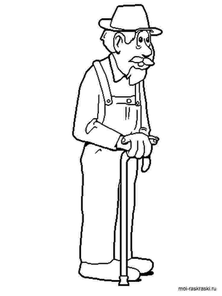 grandpa coloring pages grandfather is smiling coloring pages color luna coloring grandpa pages