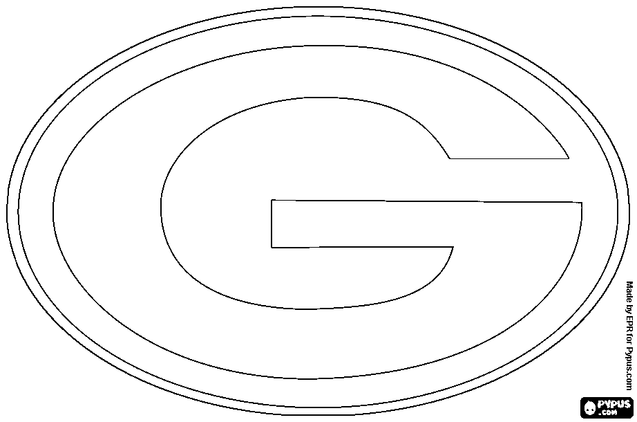 green bay packers coloring pages free green bay packers drawing at getdrawingscom free for packers pages coloring bay green free