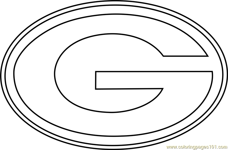 green bay packers coloring pages free green bay packers logo coloring page free printable pages bay coloring packers green free