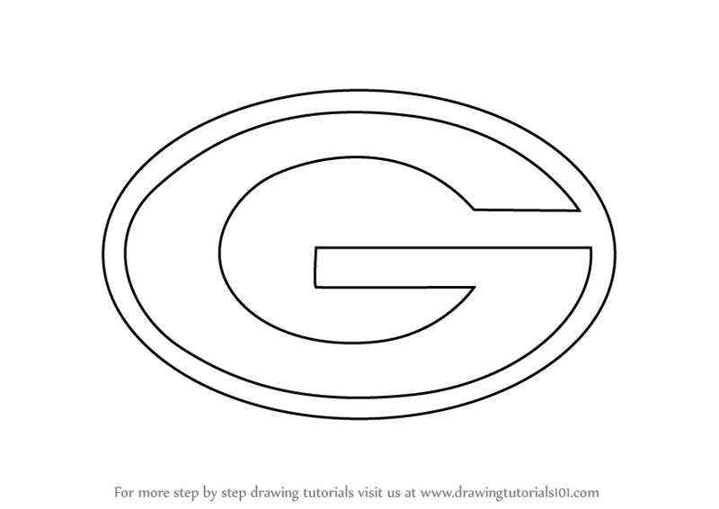 green bay packers coloring pages free green bay packers logo coloring page part 1 free packers free coloring pages bay green