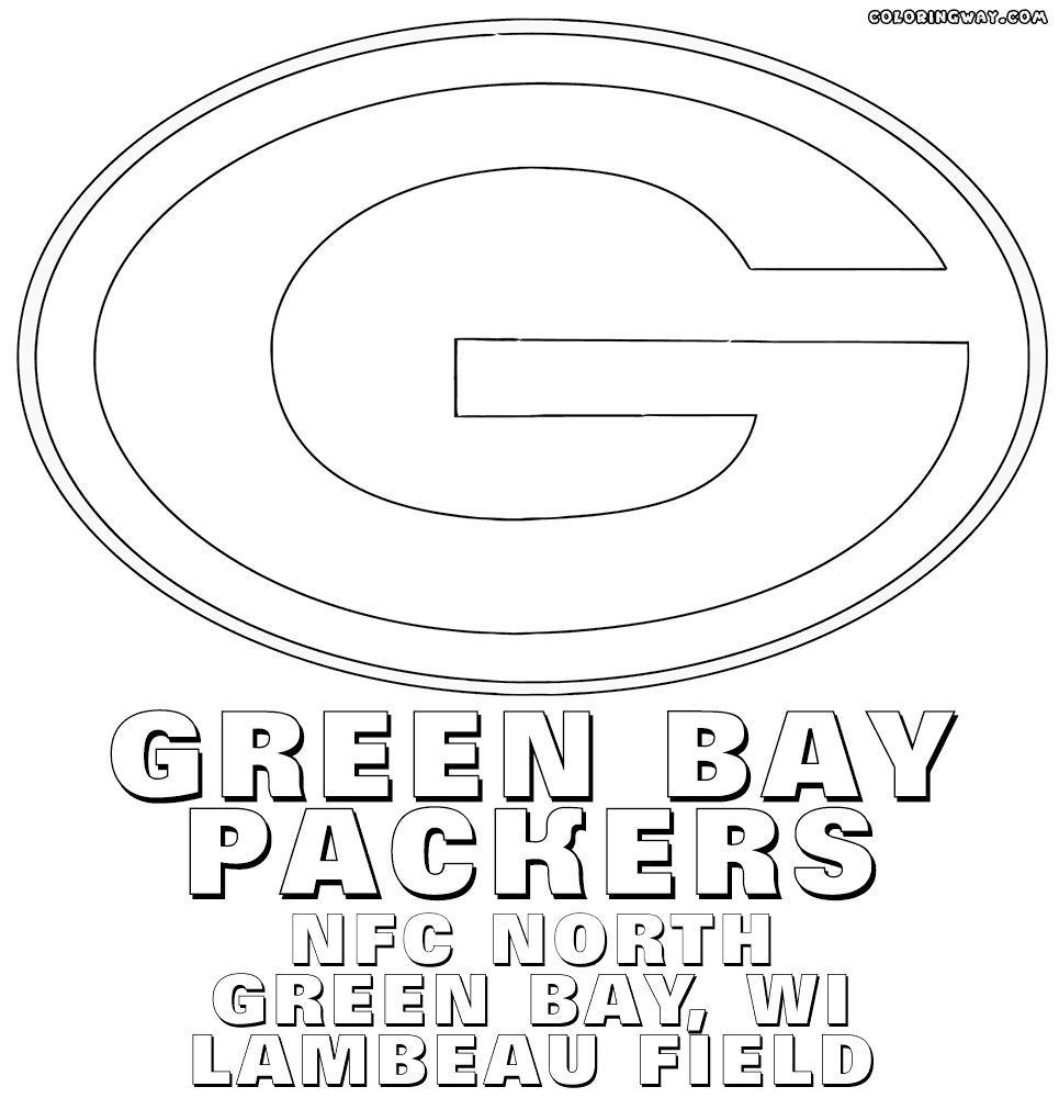 green bay packers coloring pages free green bay packers logo coloring page part 1 free pages coloring bay green free packers