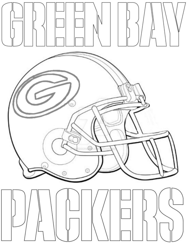 green bay packers coloring pages free green bay packers logo coloring page part 2 free pages free green packers bay coloring